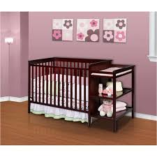 Delta Crib And Changing Table Delta Sanibel Crib And Changer Espres Walmart