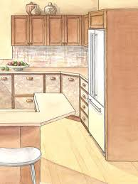 Moving Kitchen Cabinets Built In Refrigerator Better Homes And Gardens Bhg Com