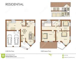 residential house cad floor plan blueprint project floor plans