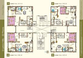 Duplex Floor Plan by Floor Plan Lanco Hills Hyderabad Residential Property Buy