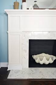 home depot fireplace black friday our 200 fireplace makeover marble tile u0026 a new mantel marble