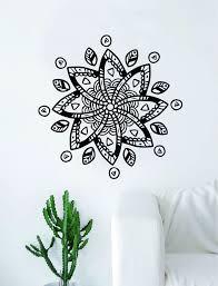 namaste home decor boho design v4 decal sticker wall vinyl art home decor teen
