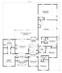 Cottage Floor Plans One Story 2500 Sq Ft One Level 4 Bedroom House Plans House Plan Four