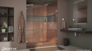 basco shower door reviews dreamline unidoor lux frameless shower door hinged opening youtube