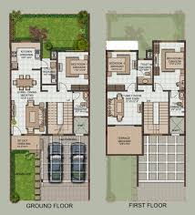 small row house plans india