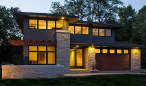 prarie style homes modern prairie style homes with crumbling wall ideas home