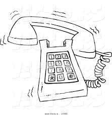 phone ring clipart 43