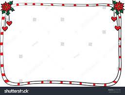 vector merry christmas card border frame stock vector 231767383