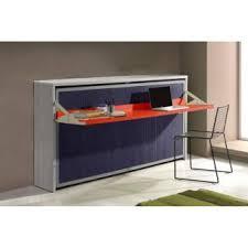 lit escamotable bureau intégré armoire lit escamotable combiné bureau au meilleur prix inside75