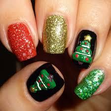 wendy u0027s delights 3d nail art christmas trees from charlies nail art