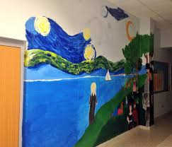 christy meredith christymeredit1 twitter a little work tonight on starry night at the fine arts department entrance go titans pic twitter com ulsyp3zpap