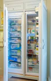 transitional kitchen designs ideas drury design hideaway in a integrated fridge shaker style cabinets and freezer on pinterest interior design websites home corner kitchen