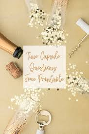 time capsule questions free printable halstead