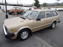 honda car manual 1981 honda civic station wagon cvcc 1 owner 4 cyl manual for