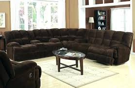 Sleeper Sectional Sofa With Chaise Sectional Sofa With Chaise Recliner And Sleeper Modern Bed