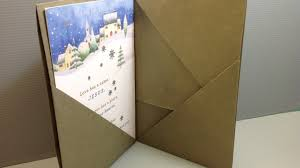 Origami Folder For Christmas Cards Make Your Own Youtube