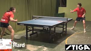 table tennis rubber reviews stiga calibra tour rubber review 2013 youtube