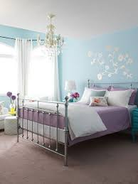 bedroom purple bedroom ideas blue paint wall chandelier frame