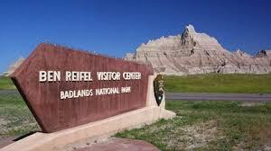badlands national park map badlands national park u s national park service
