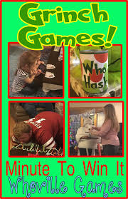 hollyshome family life grinch minute to win it whoville party games