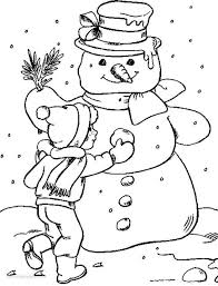 winter coloring pages snowman mandala winter coloring pages