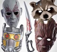 Guardians Galaxy Halloween Costumes Superhero Masks Capes Gloves U0026 Accessories Party
