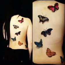45 3d butterfly tattoos 3d butterfly