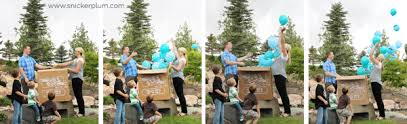 gender reveal balloons gender reveal balloon box release snickerplum s party