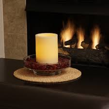pacific accents bingham centerpiece with flameless candle