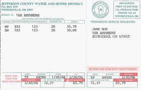 county water and sewer district