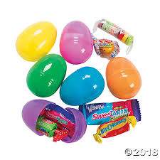 candy filled easter eggs filled bright easter eggs 24 pc
