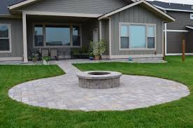 Paver Patio Designs With Fire Pit Fire Pits Design Magnificent Awesome Paver Patio Fire Pit Ideas