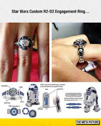 cool engagement rings r2 d2 engagement ring the meta picture