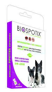biospotix 100 percent natural flea and tick spot on repellent for