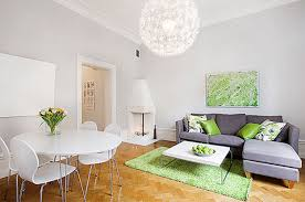 Green And Purple Home Decor by Carpet Apartment Decorating Adorable Minimalist Apartment Inside