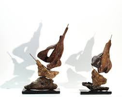 Home Decor Sculptures Sailboat Sculpture Etsy