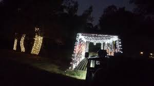 christmas lights train ride griffith park christmas train ride 2015 youtube