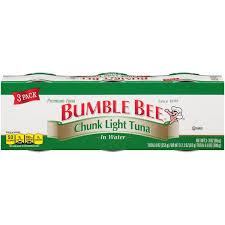 bumble bee chunk light tuna bumble bee chunk light in water tuna from giant food instacart