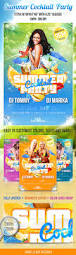 summer cocktail party psd flyer template by masterflyer graphicriver