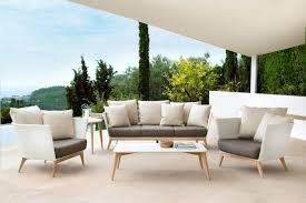 Point Golf Modern Wicker Outdoor Sofa HomeInfatuationcom - Upscale outdoor furniture