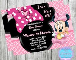 minnie mouse baby shower ideas minnie mouse baby shower etsy