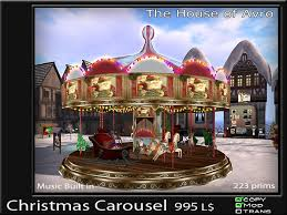 christmas carousel second marketplace christmas carousel