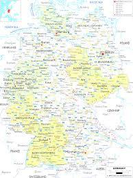 Good Map Good Entrancing Map Or Germany Evenakliyat Biz
