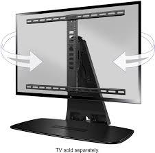 home theater installation accessories sanus premium swivel tv base for most 32