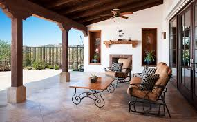 Mediterranean Patio Design Hilltop Hacienda Mediterranean Patio San Diego By