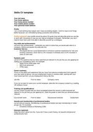 résumé templates you can download for free cover letter format