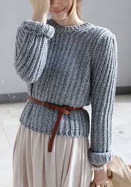 how to knit a sweater 20 style tips on how to wear knit sweaters this winter gurl com