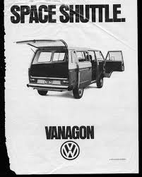 black volkswagen bus not a vw bus volkswagen vanagon magazine ad 1981 a photo on