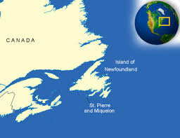 map of st and miquelon and miquelon facts culture recipes language
