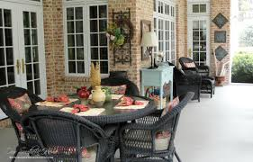 Screened Porch Southern Screened Porch Our Home Tour Our Southern Home